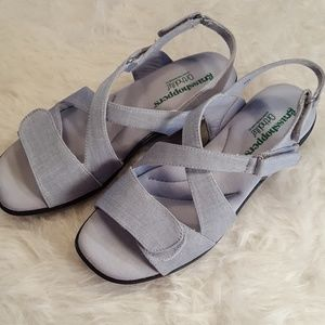 grasshoppers Shoes - Spring🌻Grasshoppers Chambray Velcro Sandals